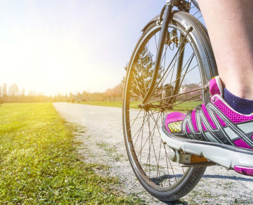 Cycling get fit for skiing