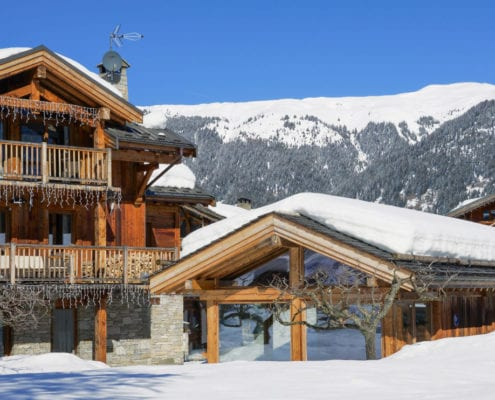 Luxury Chalet Loup Blanc Courchevel Le Praz