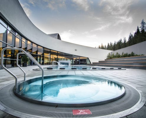 Aquamotion swimming pool Courchevel
