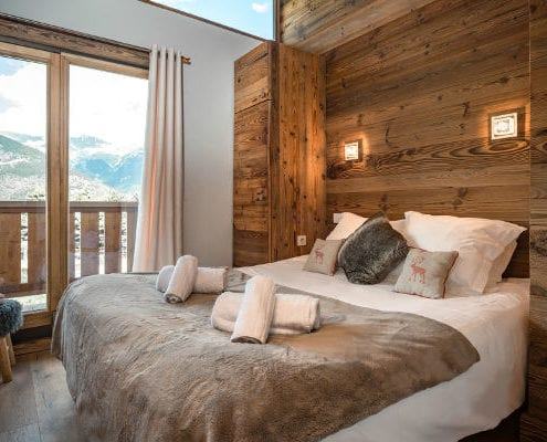 Bedroom Chalet Pure Courchevel