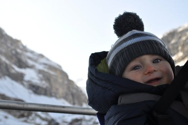 Taking a baby skiing: top tips
