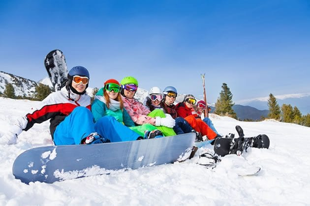 Family and Group Skiing