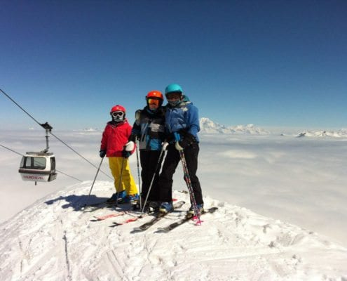 Beginner Ski Holidays Courchevel