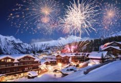 Fireworks Courchevel