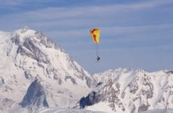 Paraglider Courchevel