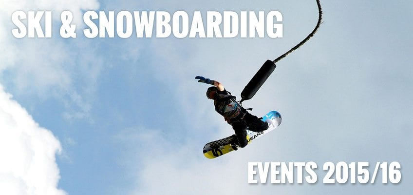 ski and snowboarding events 2015 2016