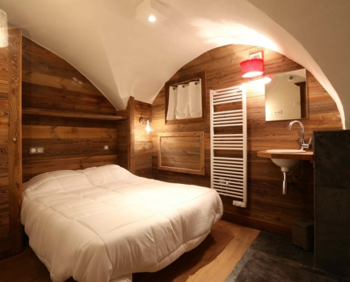 Bedroom Chalet Chez Mamie Courchevel