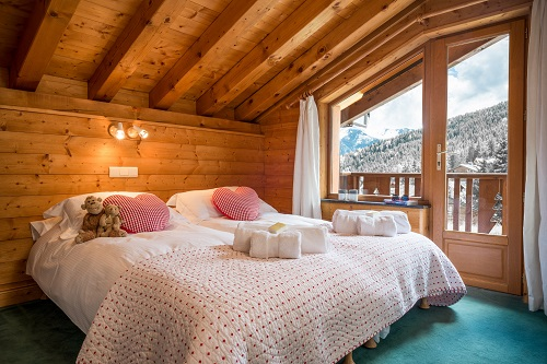 Chalet Matisse La Tania for 8