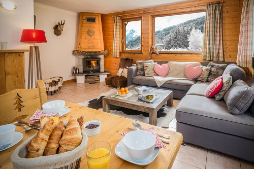 Catered chalets La Tania Matisse Haut